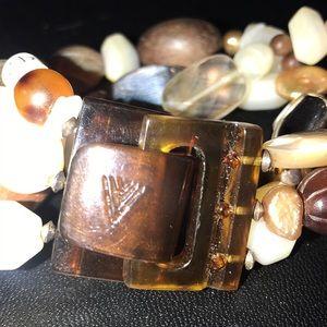 Silpada Jewelry - Silpada Mother of Pearl, silver bead Bracelet